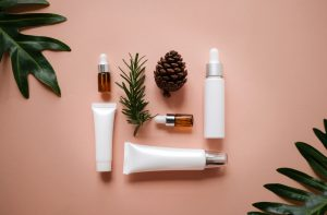Natural,Cosmetic,Cream,,,Serum,,Skincare,Blank,Bottle,Packaging,With
